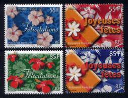 POLYNESIE - 657/660** - TIMBRES DE MESSAGES - Neufs
