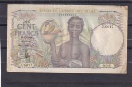 West African States 100  Fr 1948 - Billets