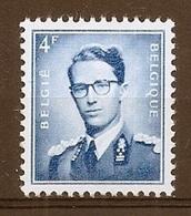 BELGIE Boudewijn Bril * Nr 926a * Postfris Xx * WIT  PAPIER - 1953-1972 Lunettes