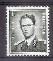 BELGIE Boudewijn Bril * Nr 924 P3b * Postfris Xx * FLUOR  PAPIER - 1953-1972 Lunettes