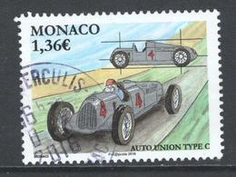 Monaco, Yv 3025  Année 2016, Oblitéré, Haute Valeur - Monaco