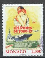 Monaco, Yv 3039  Année 2016, Oblitéré, Haute Valeur - Monaco