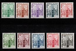 Madagascar -  Taxe YV 41 à 50 N** Complete - Madagascar (1960-...)