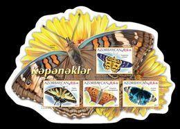 Azerbaïjan (KM) 2017 No. 109/12 Fauna. Butterflies MNH ** - Aserbaidschan