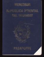 PASSPORT - PASSEPORT - PASAPORTE- PASSAPORTO - URUGUAY - MERCOSUR - VISA United States B562500 - Documenti Storici