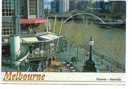 18) VIEW OF RIVER YARRA, MELBOURNE, VICTORIA, AUSTRALIA. - Melbourne