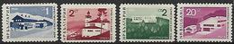 BULGARIA 1966 SERIE TURISTICA YVERT. 1471-1474 MLH VF - Bulgaria