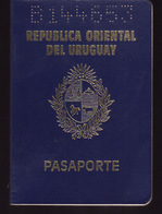 PASSPORT - PASSEPORT - PASAPORTE- PASSAPORTO - URUGUAY  - VISAS / TURKEY /EEUU - Documenti Storici
