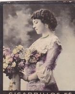 HADING. CIGARRILLOS FE. COLORISE. CARD TARJETA COLECCIONABLE TABACO. CIRCA 1915 SIZE 4.5x5.5cm - BLEUP - Berühmtheiten