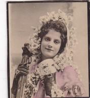 GOWER. CIGARRILLOS FE. COLORISE. CARD TARJETA COLECCIONABLE TABACO. CIRCA 1915 SIZE 4.5x5.5cm - BLEUP - Berühmtheiten