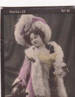 DE PRESIES. HABANILLOS LA PLATA. COLORISE. CARD TARJETA COLECCIONABLE TABACO. CIRCA 1915 SIZE 4.5x5.5cm - BLEUP - Berühmtheiten