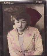 DIELERLE. HABANILLOS LA PLATA. COLORISE. CARD TARJETA COLECCIONABLE TABACO. CIRCA 1915 SIZE 4.5x5.5cm - BLEUP - Berühmtheiten