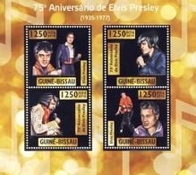 Guinea-Bissau, 2010. [gb10308] Elvis Presley (s\s, Silver Foil) - Elvis Presley