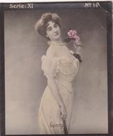 GONDY. HABANILLOS LA PLATA. COLORISE. CARD TARJETA COLECCIONABLE TABACO. CIRCA 1915 SIZE 4.5x5.5cm - BLEUP - Berühmtheiten