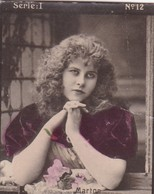 MARTON. HABANILLOS LA PLATA. COLORISE. CARD TARJETA COLECCIONABLE TABACO. CIRCA 1915 SIZE 4.5x5.5cm - BLEUP - Berühmtheiten