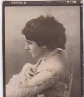 GETT. HABANILLOS LA PLATA. COLORISE. CARD TARJETA TABACO TOBACCO. CIRCA 1915 SIZE 4.5x5.5cm - BLEUP - Berühmtheiten