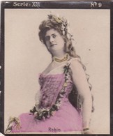 ROBIN. HABANILLOS LA PLATA. COLORISE. CARD TARJETA TABACO TOBACCO. CIRCA 1915 SIZE 4.5x5.5cm - BLEUP - Berühmtheiten