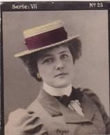 PRYOR. HABANILLOS LA PLATA. COLORISE. CARD TARJETA TABACO TABAK TOBACCO. CIRCA 1915 SIZE 4.5x5.5cm - BLEUP - Berühmtheiten