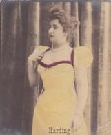 HARDING. COLORISE. CARD TARJETA TABACO TABAK TOBACCO. CIRCA 1915 SIZE 4.5x5.5cm - BLEUP - Berühmtheiten