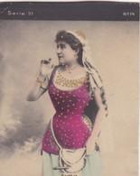 BERTHET. COLORISE. CARD TARJETA TABACO TABAK TOBACCO. CIRCA 1915 SIZE 4.5x5.5cm - BLEUP - Berühmtheiten