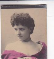 COLORISE. CARD TARJETA TABACO TABAK TOBACCO. CIRCA 1915 SIZE 4.5x5.5cm - BLEUP - Berühmtheiten