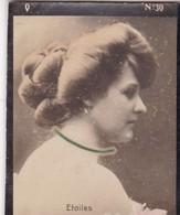 ETOILES. CARD TARJETA TABACO TABAK TOBACCO. CIRCA 1915 SIZE 4.5x5.5cm - BLEUP - Berühmtheiten