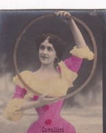 CAVALIERI. CARD TARJETA TABACO TABAK TOBACCO. CIRCA 1915 SIZE 4.5x5.5cm - BLEUP - Berühmtheiten