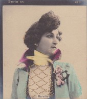 MARVILLE. CARD TARJETA TABACO TABAK TOBACCO. CIRCA 1915 SIZE 4.5x5.5cm - BLEUP - Berühmtheiten