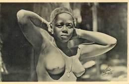 "CPA AFRIQUE / GUINEE ""Exposition Coloniale Portugaise, Porto 1934"" / NU - Equatorial Guinea"