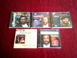 PAVAROTTI  °° COLLECTION DE 5 CD ALBUM - Musique & Instruments