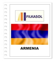 Suplemento Filkasol Armenia 2018 - Ilustrado Para Album 15 Anillas - Pre-Impresas