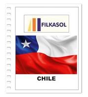 Suplemento Filkasol Chile 2018 - Ilustrado Para Album 15 Anillas - Pre-Impresas