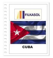 Suplemento Filkasol Cuba 2018 - Ilustrado Para Album 15 Anillas - Pre-Impresas