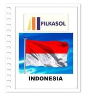 Suplemento Filkasol Indonesia 2018 - Ilustrado Para Album 15 Anillas - Pre-Impresas
