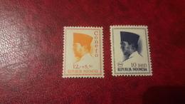 1965  1966 Conefo E Sukarno   Nuovi - Indonesia