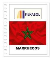 Suplemento Filkasol Marruecos 2018 - Ilustrado Para Album 15 Anillas - Pre-Impresas