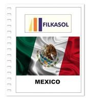 Suplemento Filkasol Mexico 2018 - Ilustrado Para Album 15 Anillas - Pre-Impresas