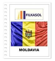 Suplemento Filkasol Moldavia 2018 + Filoestuches HAWID Transparentes - Pre-Impresas