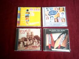 LOT  DE 4 CD DIVERS ° CHANSONS PAILLARDES  + SOL EN SI + PARIS JE T'AIME + LA NOUVELLE STAR - Musique & Instruments