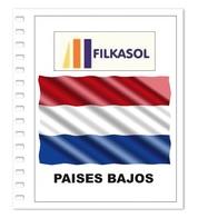Suplemento Filkasol Paises Bajos 2018 - Ilustrado Para Album 15 Anillas - Pre-Impresas