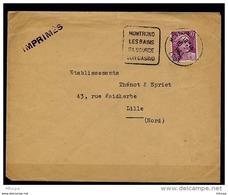 Lil3132 Loire 42 DAGUIN MON821 Montrond Les Bains Sa Source Son Casino /Lettre 10/07/53 - Postmark Collection (Covers)