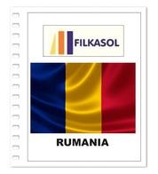 Suplemento Filkasol Rumania 2018 + Filoestuches HAWID Transparentes - Pre-Impresas