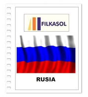 Suplemento Filkasol Rusia 2018 - Ilustrado Para Album 15 Anillas - Pre-Impresas