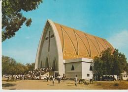 CP - RÉPUBLIQUE DU TCHAD - N.DJAMENA - LA CATHÉDRALE - 5086 - ANSSOUNOUT - ANIMÉE - Chad