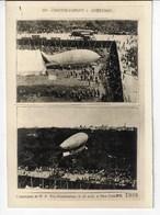 """Un """"SANTOS DUMONT"""" Américain - L'ascension De M. A. Roy. Knabenshue, Le 20août à NEW-YORK, En 1905 (Z1) - Dirigeables"""