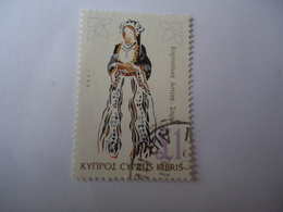 CYPRUS  USED   STAMPS   COSTUMES 1998 1 POUND - Gebraucht