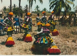 CP -  RÉPUBLIQUE TOGOLAISE - DANSES ADJOGBO - SUD TOGO - OFFICE NATIONAL DU TOURISME - Togo