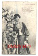 CPA -  Commandements De La Jeune Fille à Marier + Texte En 1904 - Phot. A. Bergeret & Cie - Scans Recto-Verso - Femmes