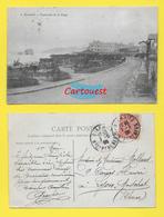 CPA BIARRITZ - 64 ֎ Pays Basque - Esplanade De La Plage  ֎ 1906 - Biarritz