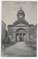 (RECTO / VERSO) BADONVILLER EN 1915 - L' EGLISE - CPA VOYAGEE - France